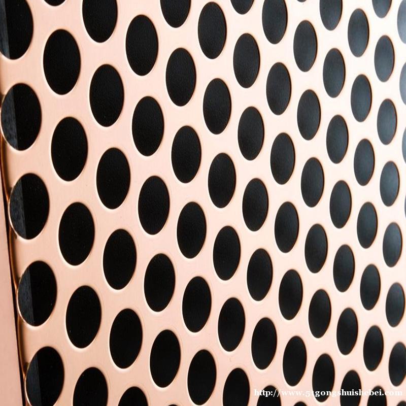 苏州加工大孔直径冲孔板